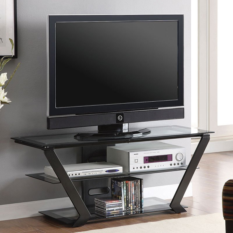 Contemporary Metal Tv Console