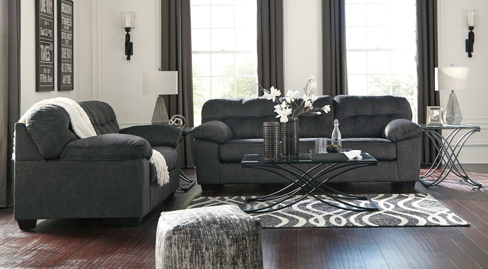 Accrington Granite Living Room Set By Signature Design By