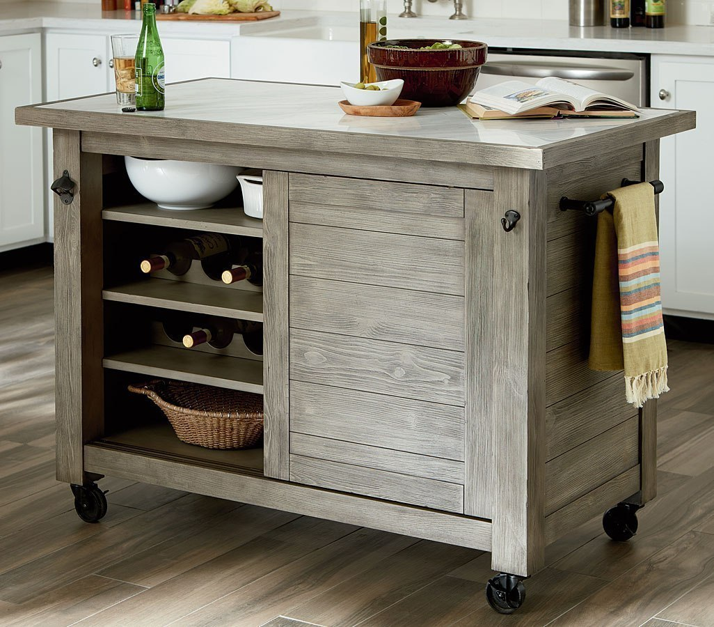 Junction Shiplap Kitchen Island By Hammary