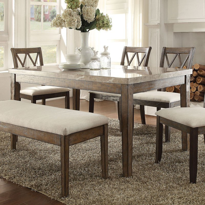 Claudia Dining Room Set By Acme Furniture