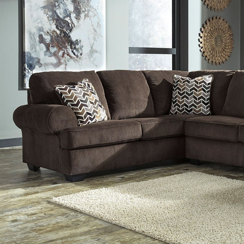 Modular Sectional Sofa Ashley: Jinllingsly Chocolate Modular Sectional By Signature