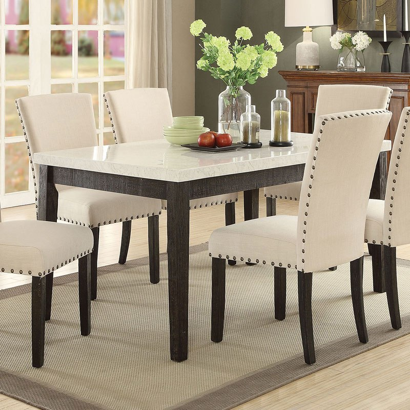 Dazzelton Dining Room Table: Nolan Rectangular Dining Table By Acme Furniture