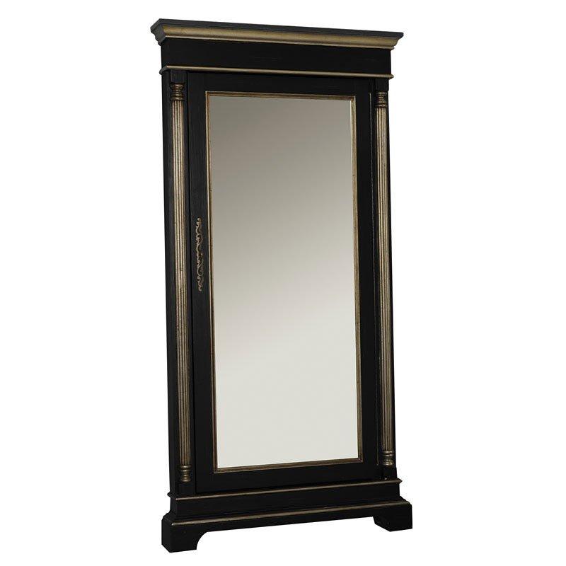 accent floor mirror w hidden jewelry storage by pulaski furniture furniturepick. Black Bedroom Furniture Sets. Home Design Ideas
