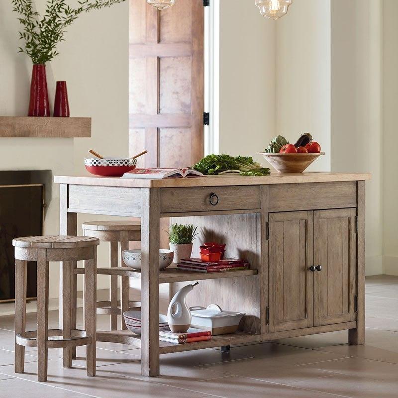Monteverdi Kitchen Island Set By Rachael Ray Home Legacy Clic Furniturepick
