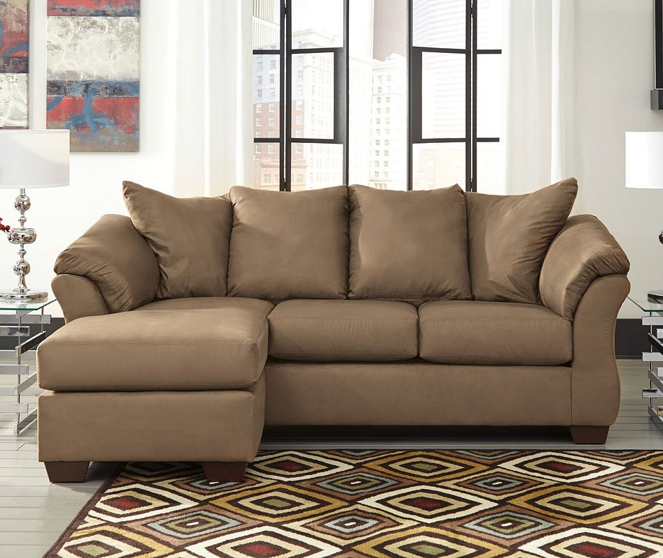 Darcy Mocha Sofa Chaise By Signature Design By Ashley
