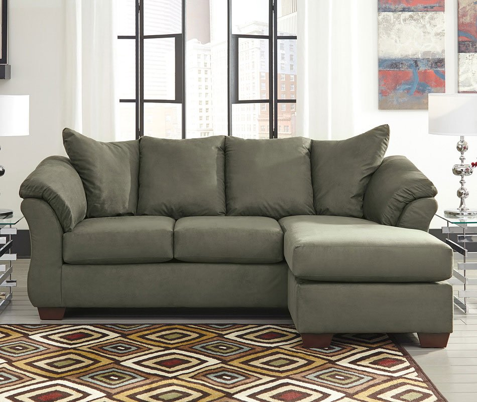 Darcy Sage Sofa Chaise Living Room Furniture Living
