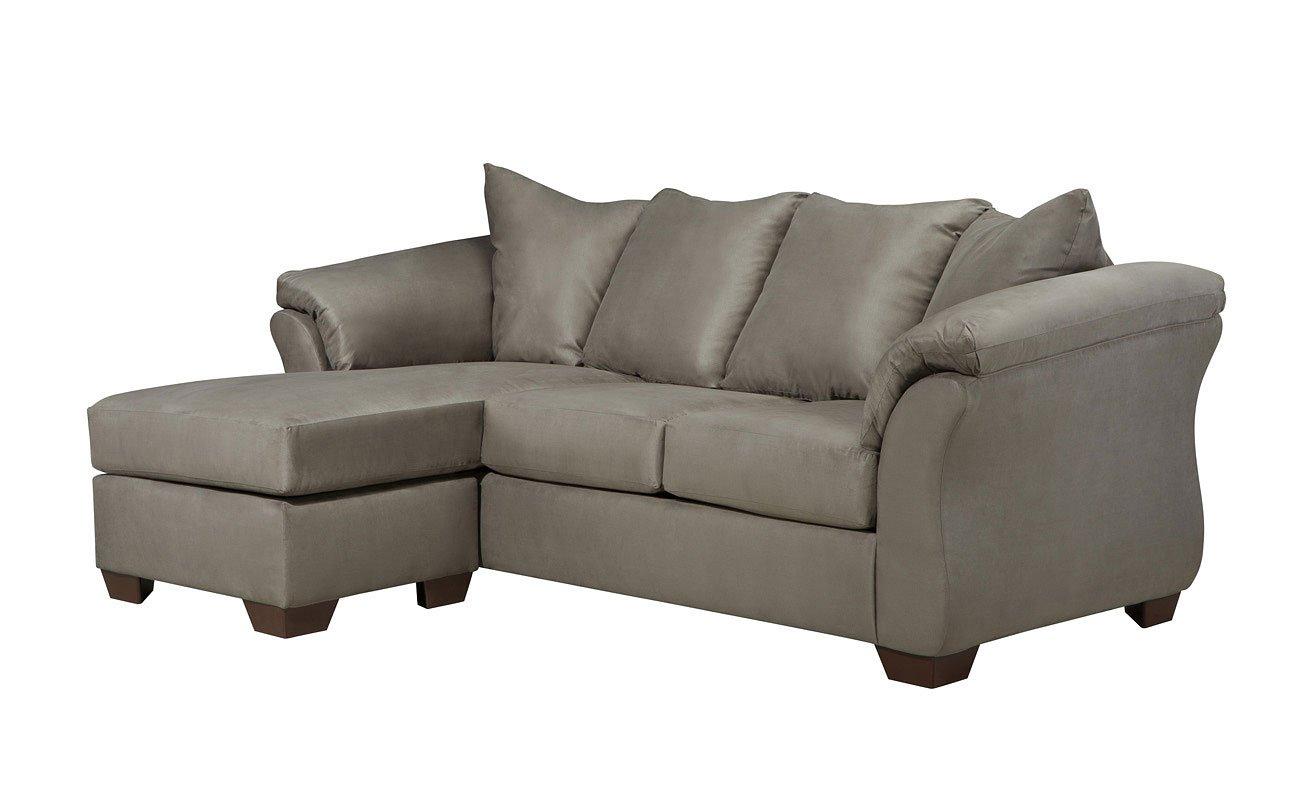 Darcy Cobblestone Sofa Chaise By Signature Design By