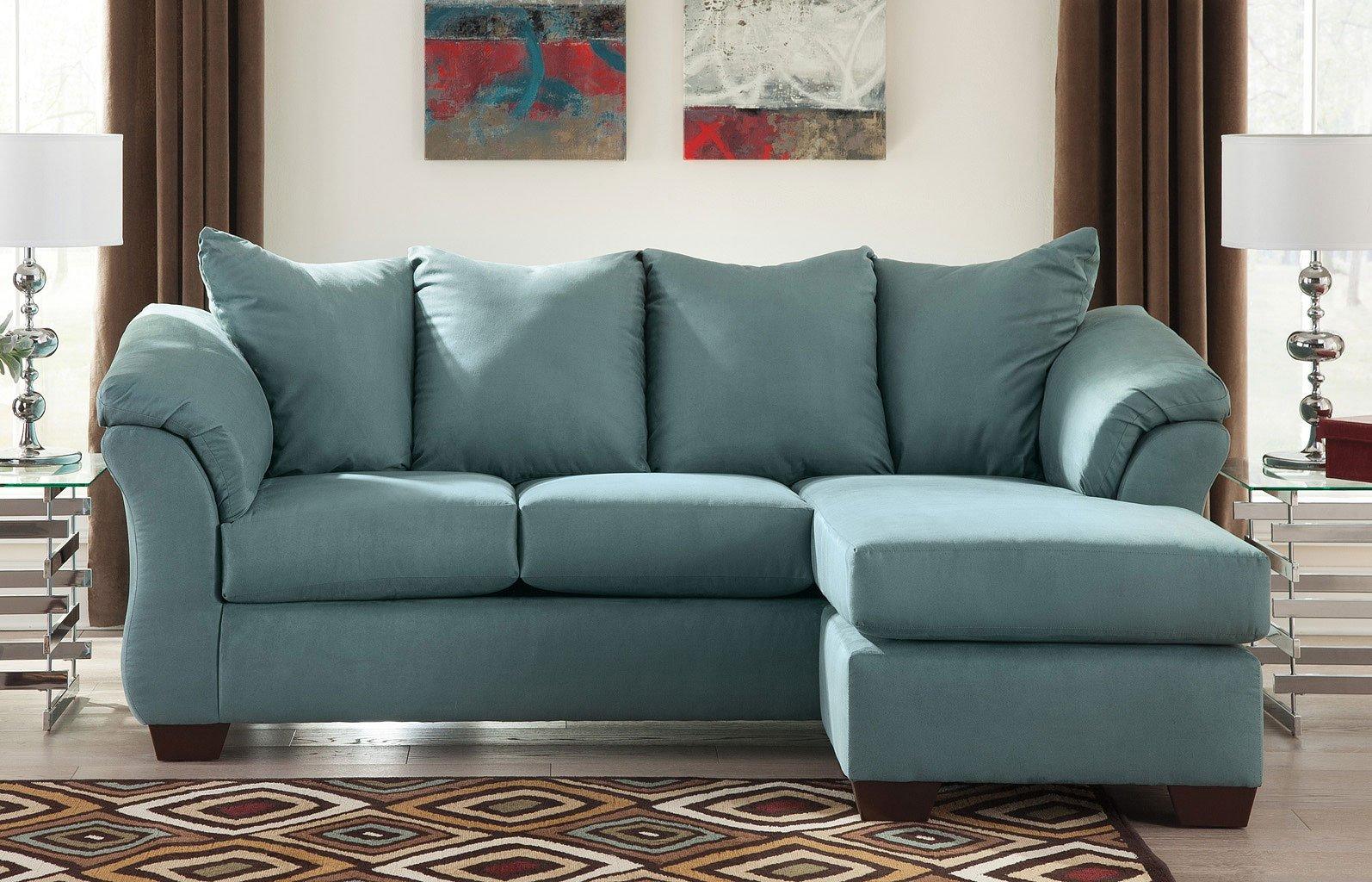 Darcy - Sky Sofa Chaise Living Room Set