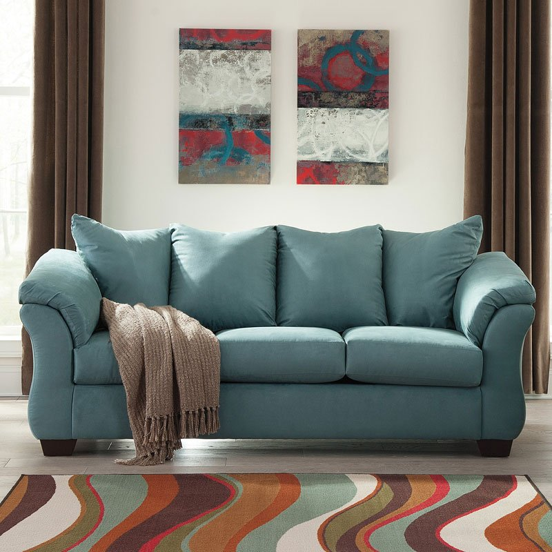 Darcy Sky Sofa By Signature Design By Ashley 1 Review S