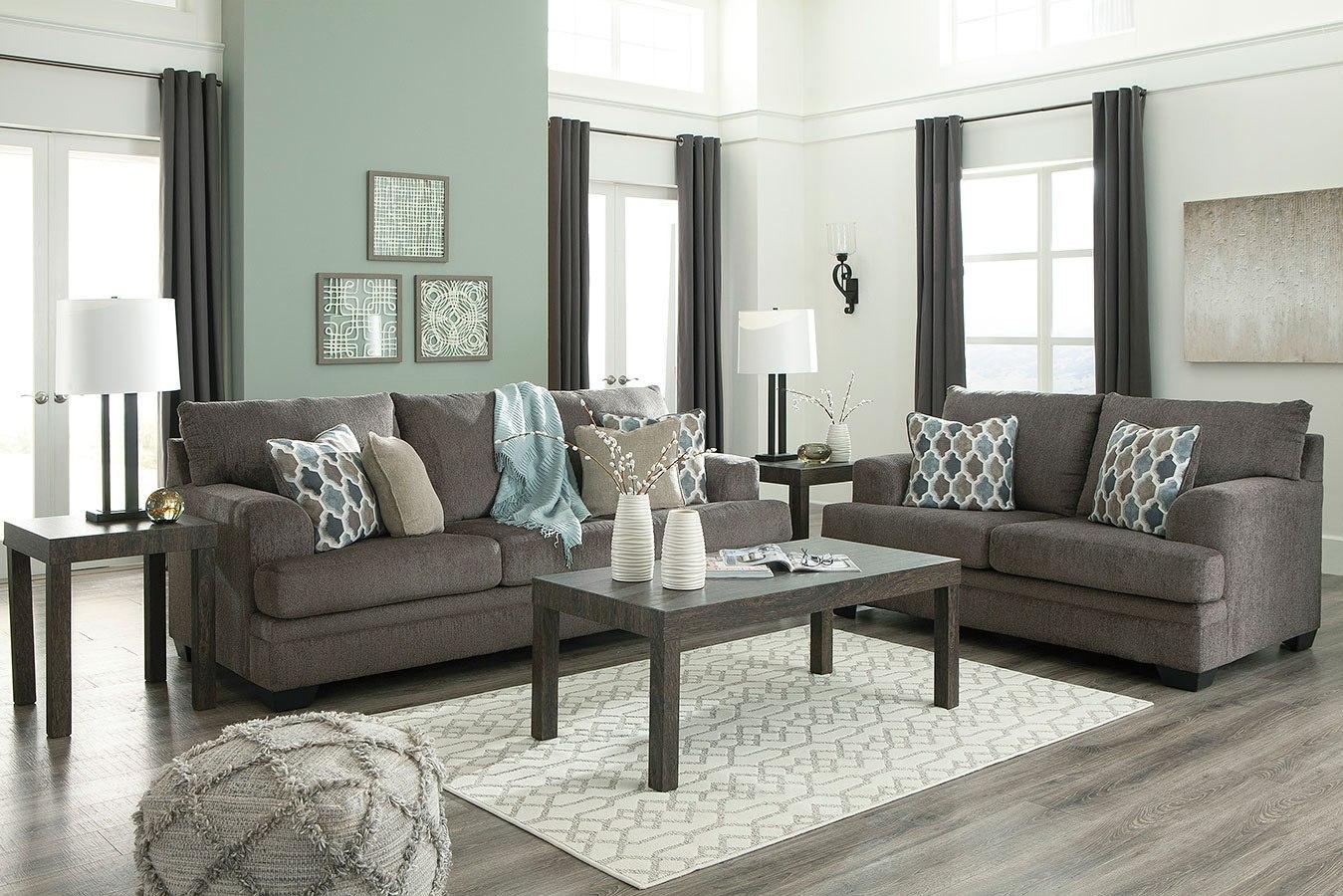 Dorsten Slate Living Room Set By Signature Design By