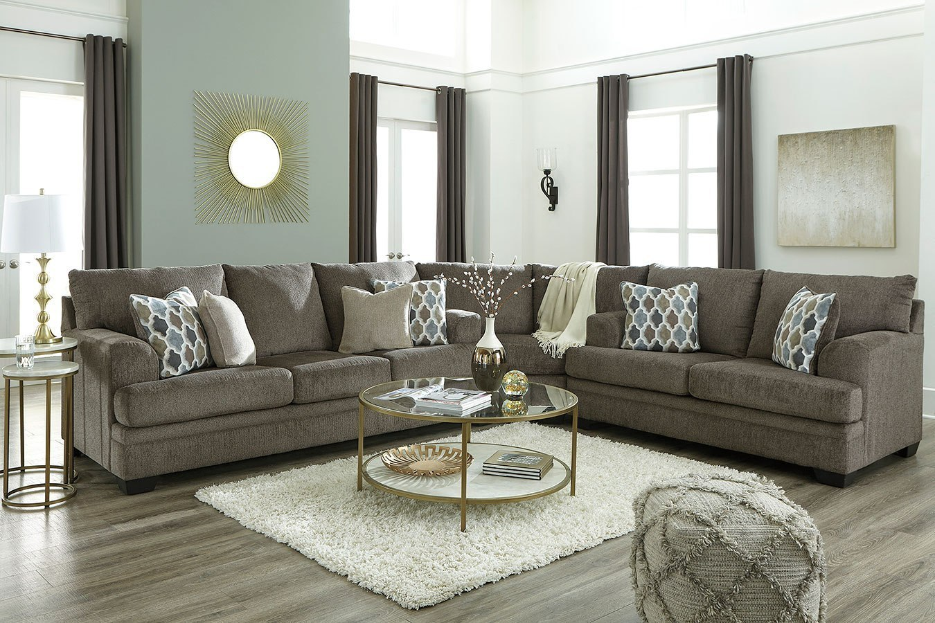 Dorsten Slate Sectional Set By Signature Design By Ashley