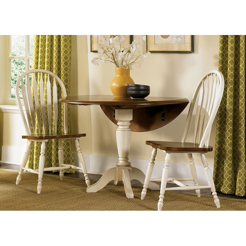 Liberty Furniture Low Country Sand Dining Bench At Hayneedle: Low Country Drop Leaf Dinette (Sand) W/ Windsor Chairs By