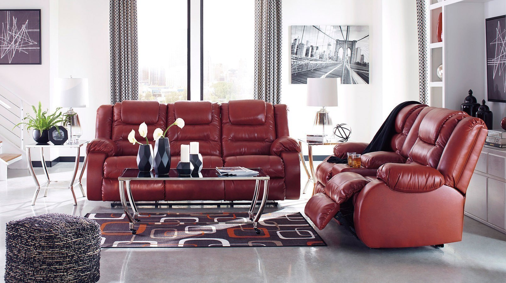 Admirable Vacherie Salsa Reclining Living Room Set Gmtry Best Dining Table And Chair Ideas Images Gmtryco