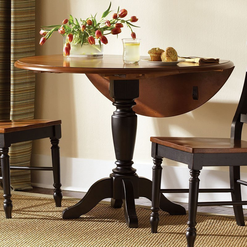 Low Country Drop Leaf Dining Table Black Dining Room And Kitchen Awesome Low Dining Room Table