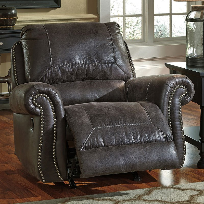 Breville Charcoal Sofa And Loveseat