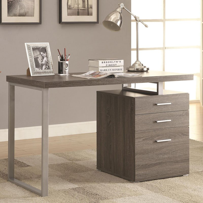 Hilliard Writing Desk (Weathered Grey)