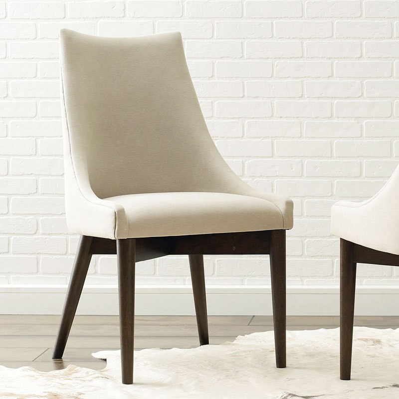 Austin Upholstered Sling Back Chair Set Of 2