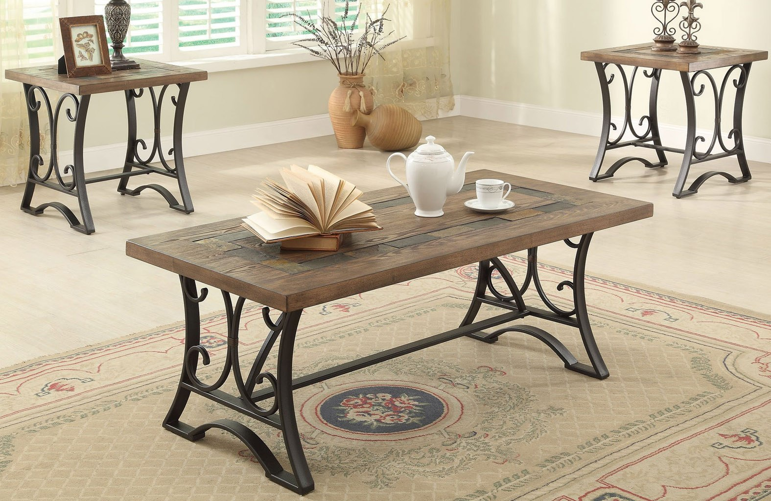 Kiele 3 Piece Occasional Table Set By Acme Furniture