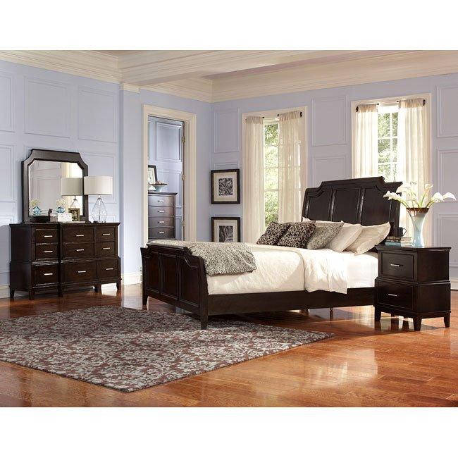 vantage sleigh bedroom set standard furniture furniturepick. Black Bedroom Furniture Sets. Home Design Ideas