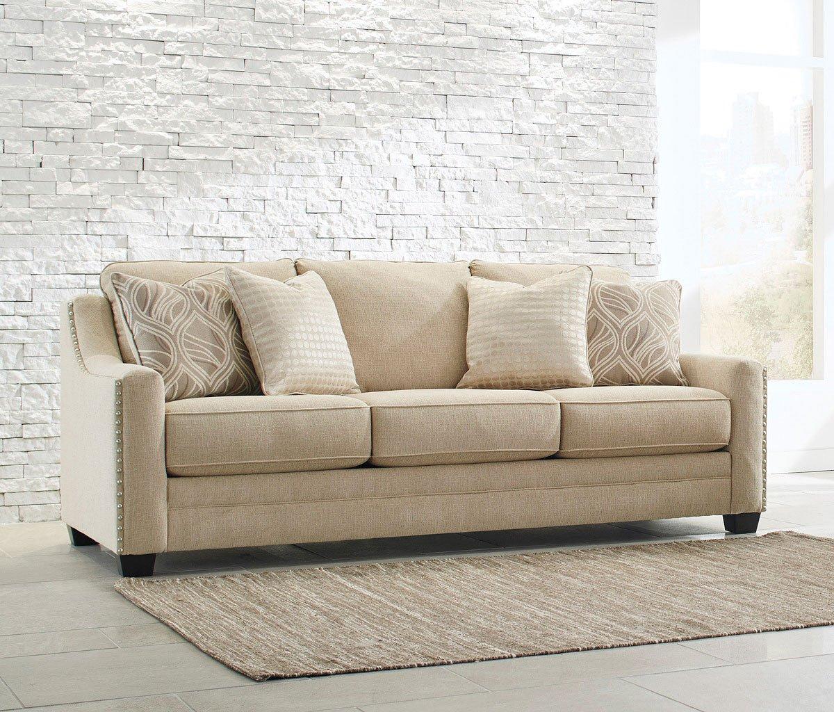 Mauricio Linen Sofa By Benchcraft Furniturepick