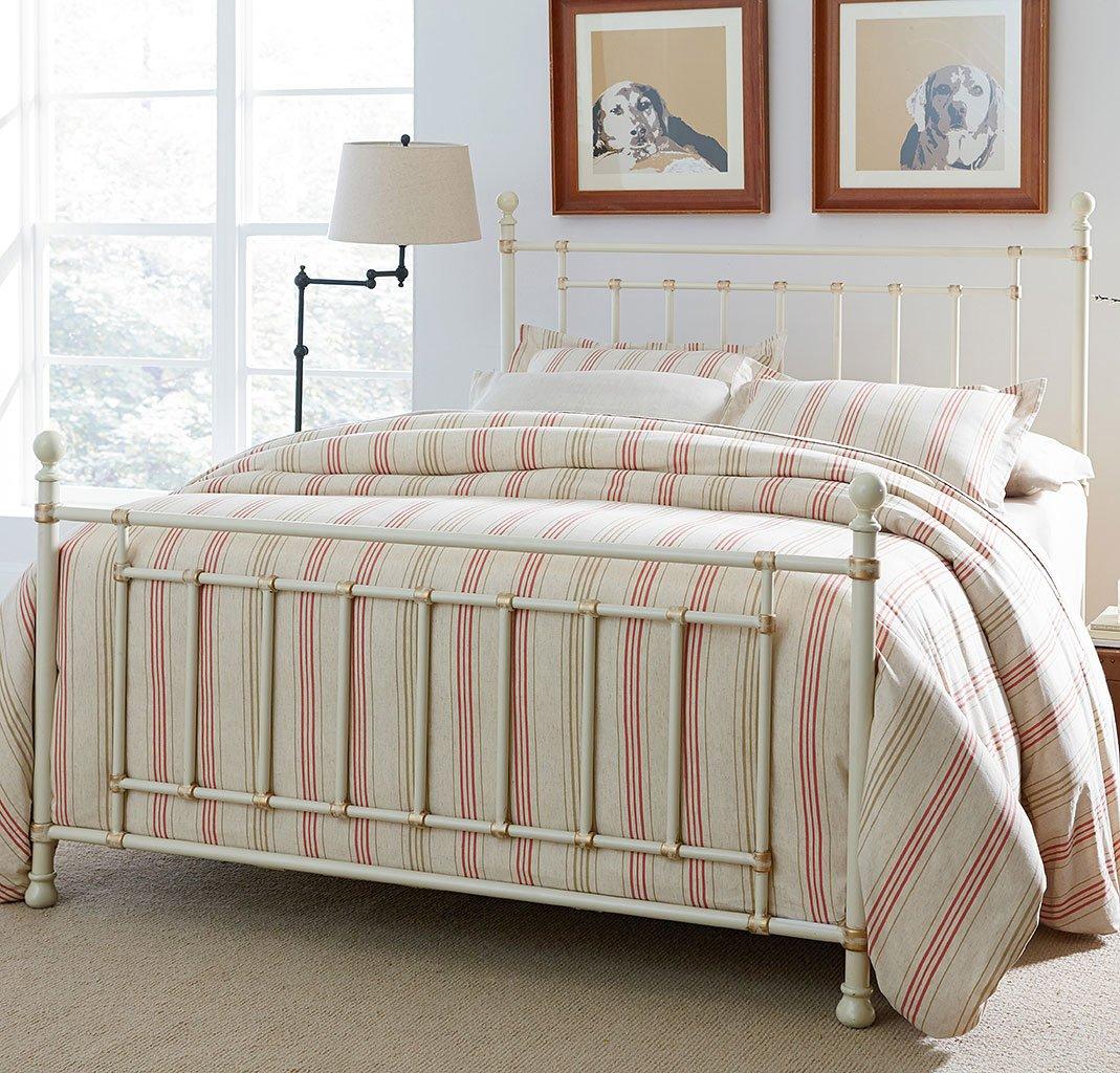 Bennington White Metal Bed By Standard Furniture