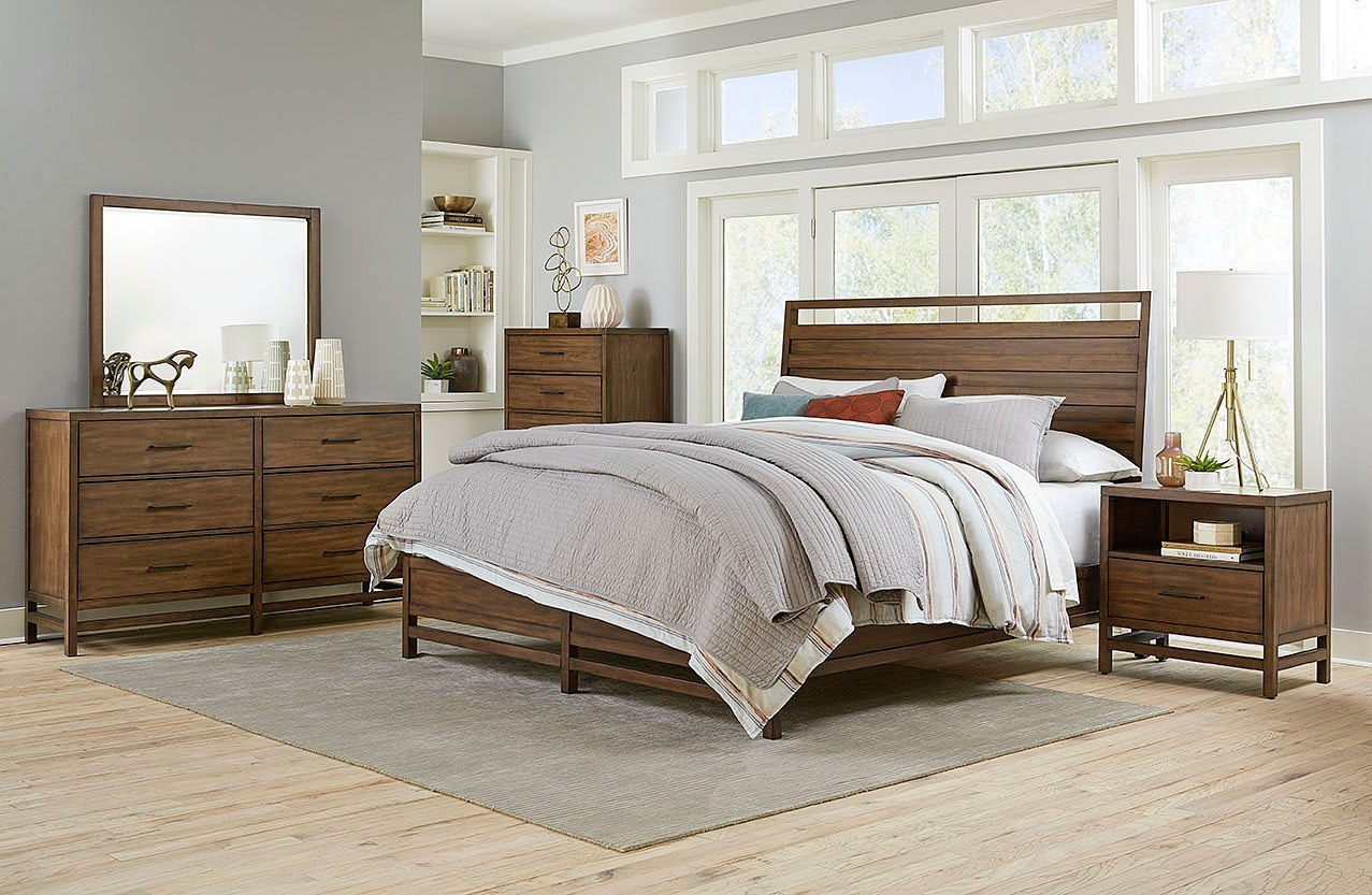 Thomas panel bedroom set by standard furniture furniturepick