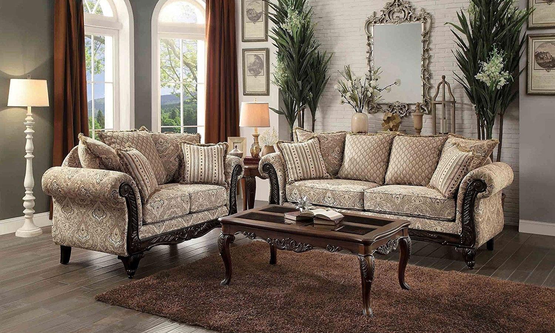 Thibodaux Living Room Set (Neutral) by Homelegance ...
