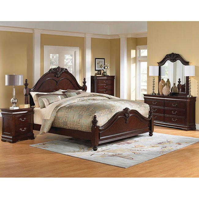 westchester poster bedroom setstandard furniture | furniturepick