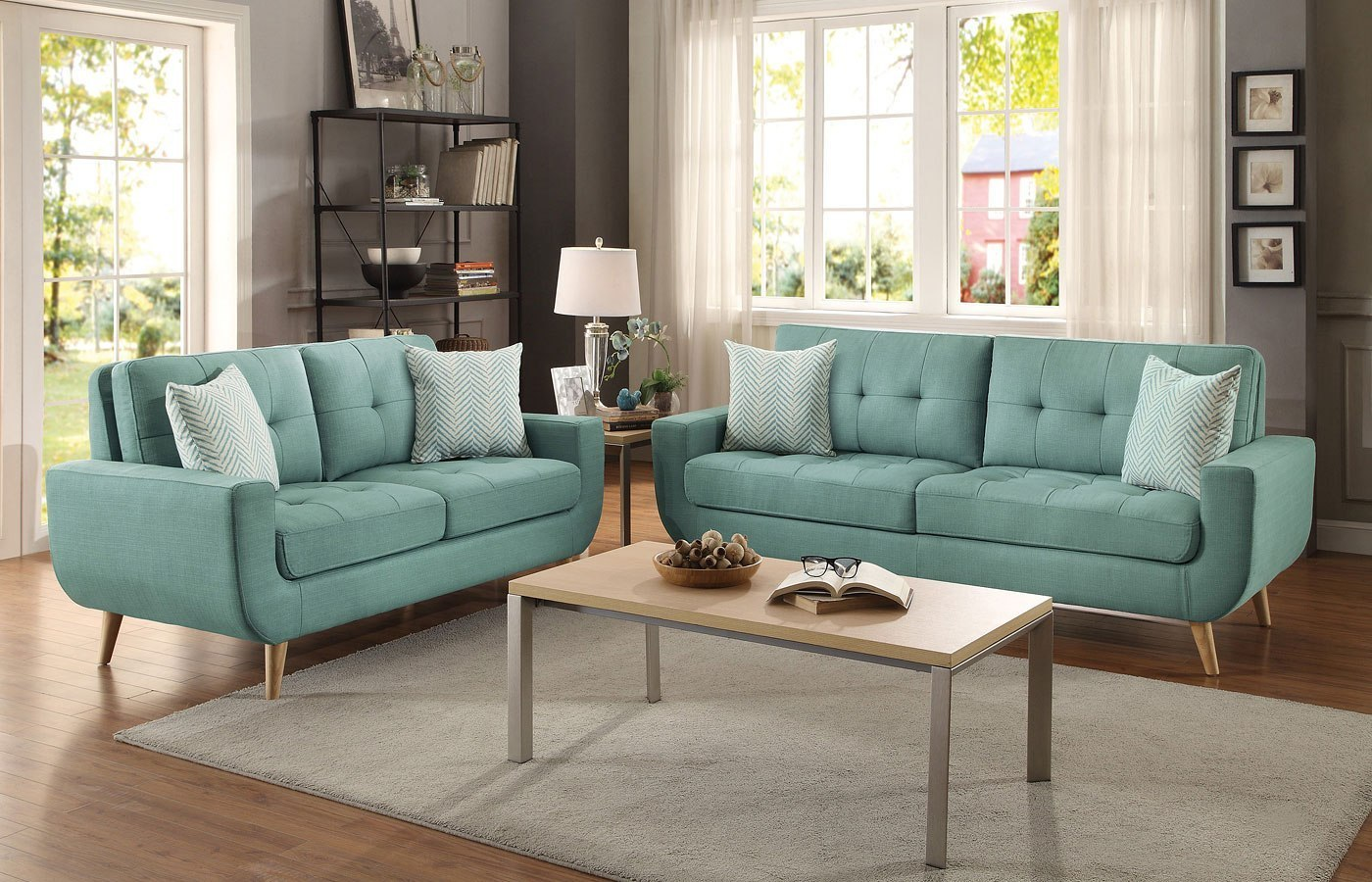 Marvelous Deryn Living Room Set Teal Download Free Architecture Designs Xaembritishbridgeorg