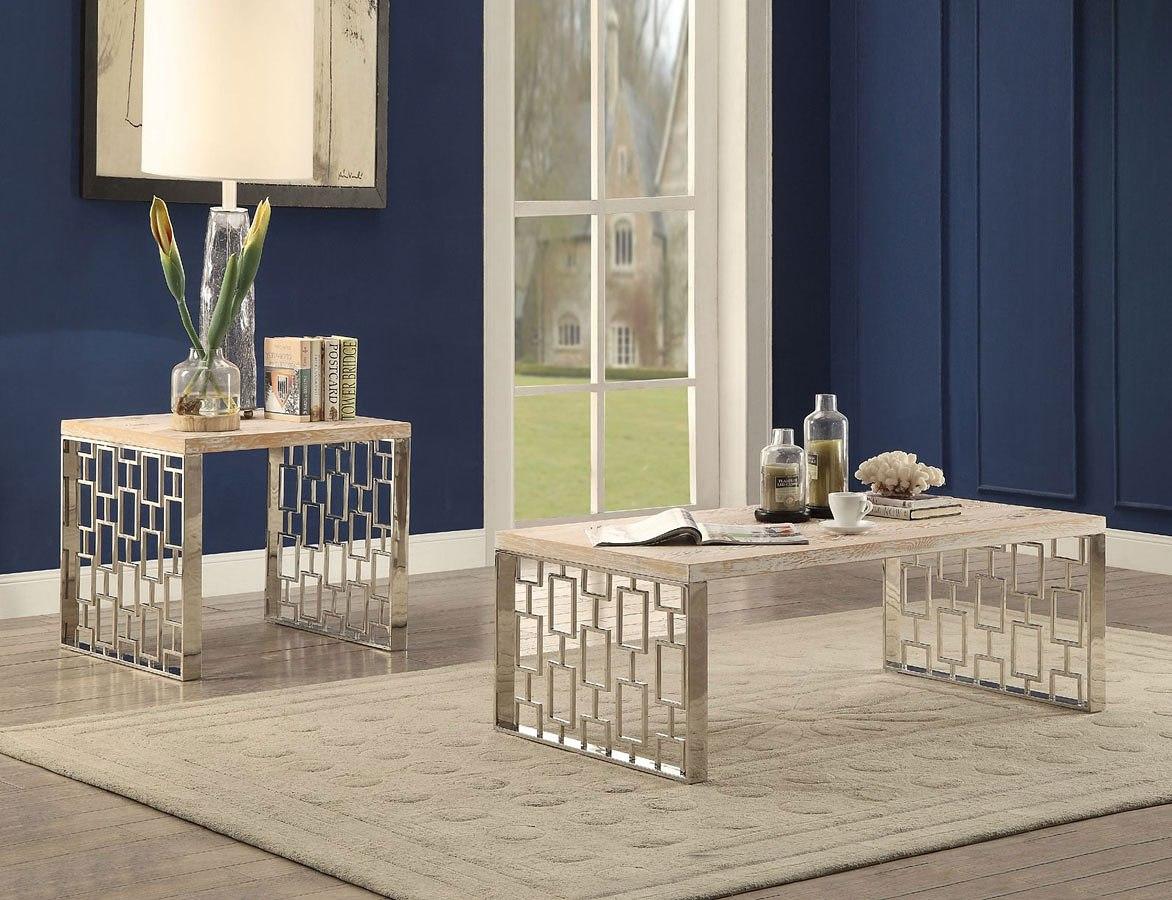 Portia Occasional Table Set by Acme Furniture | FurniturePick