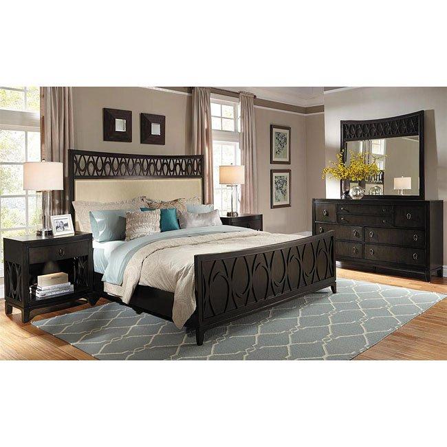 Aura Panel Bedroom Set Samuel Lawrence Furniture Furniturepick