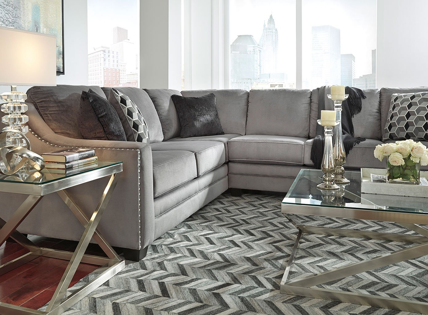 Astounding Bicknell Charcoal Modular Sectional Set Pdpeps Interior Chair Design Pdpepsorg