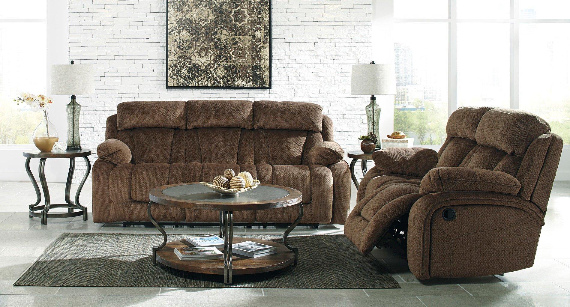 Swell Stricklin Chocolate Power Reclining Living Room Set Andrewgaddart Wooden Chair Designs For Living Room Andrewgaddartcom