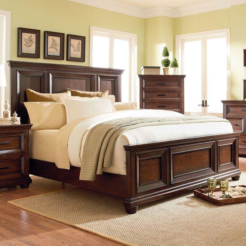 Vineyard Panel Bed Beds Bedroom Furniture Bedroom
