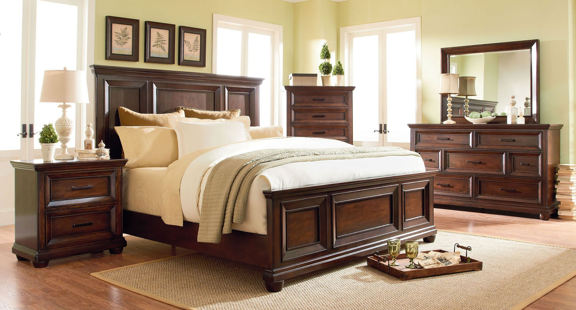 Vineyard Panel Bedroom Set Bedroom Sets Bedroom