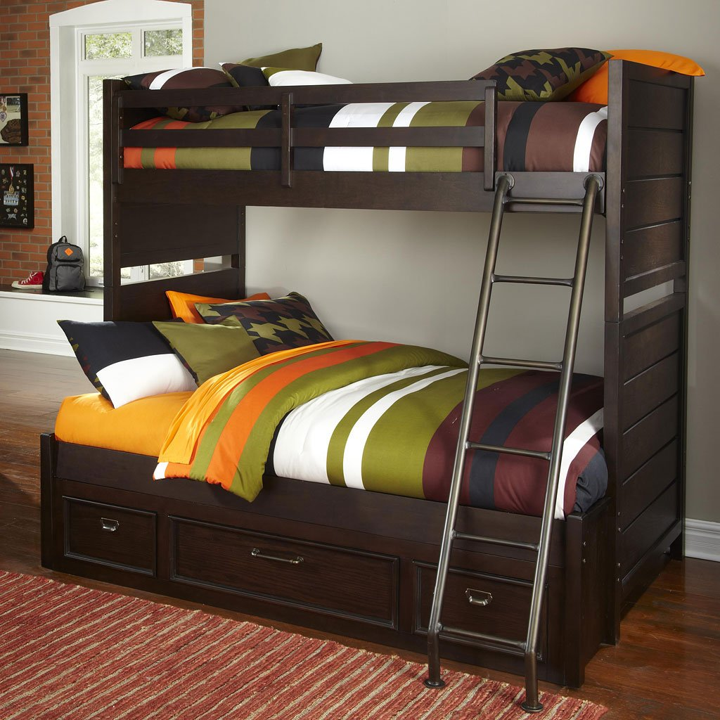 Clubhouse Twin Over Full Bunk Bed By Samuel Lawrence Furniture