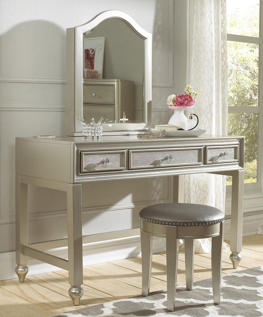 Lil Diva Vanity Desk Vanity W Stool By Samuel Lawrence