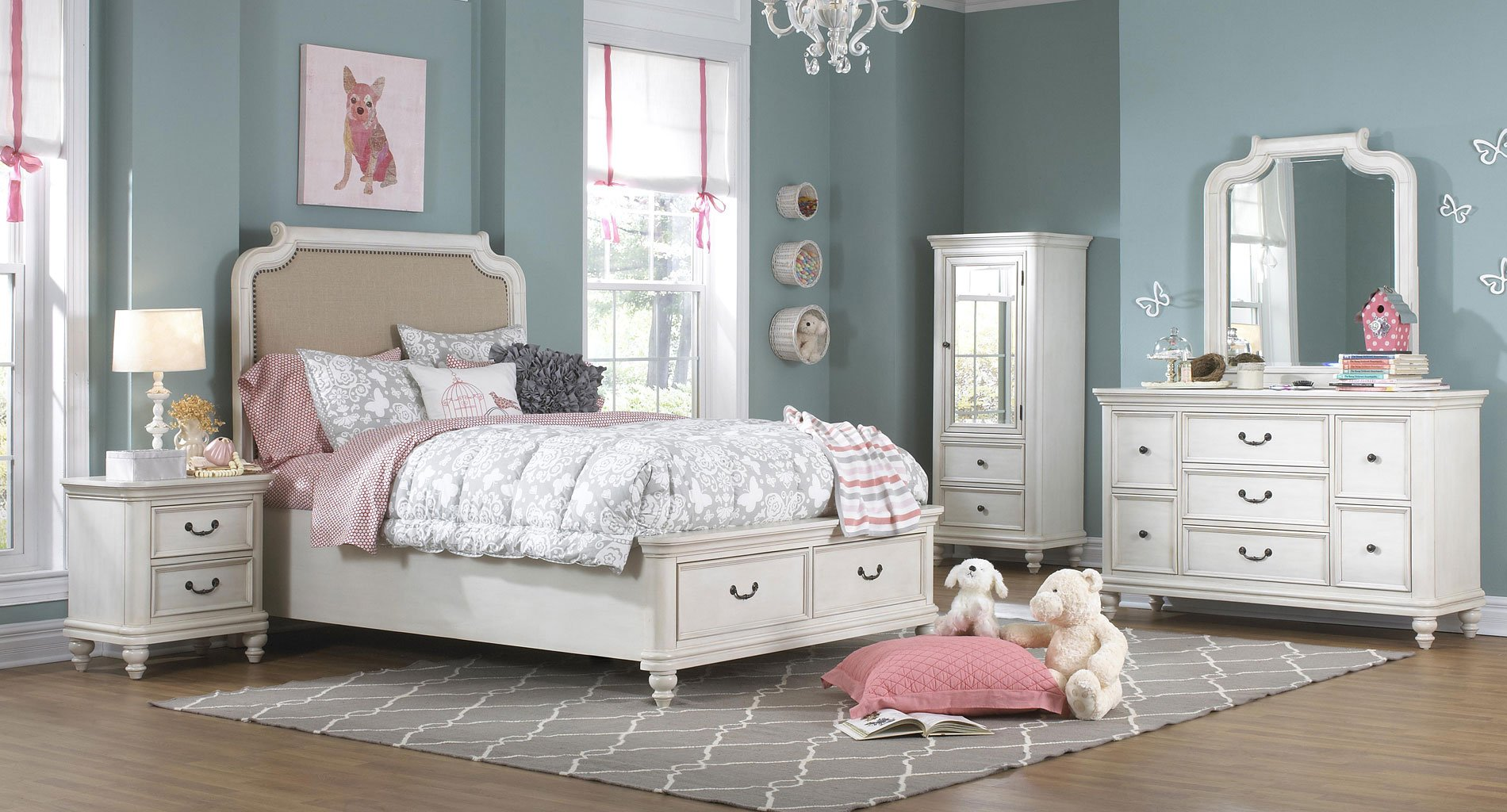 216a35e2e7 Madison Storage Bedroom Set by Samuel Lawrence Furniture