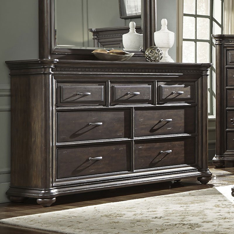 Grand Manor Dresser By Samuel Lawrence Furniture Furniturepick