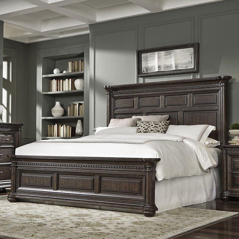 Grand Manor Panel Bed Beds Bedroom Furniture Bedroom