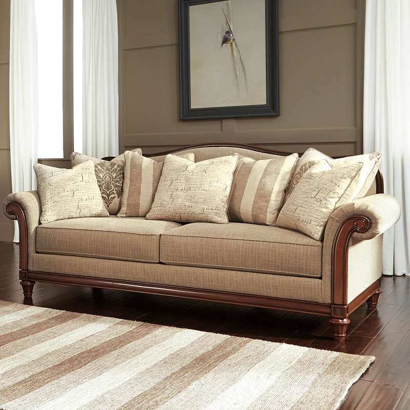 Berwyn View Quartz Sofa By Signature Design By Ashley