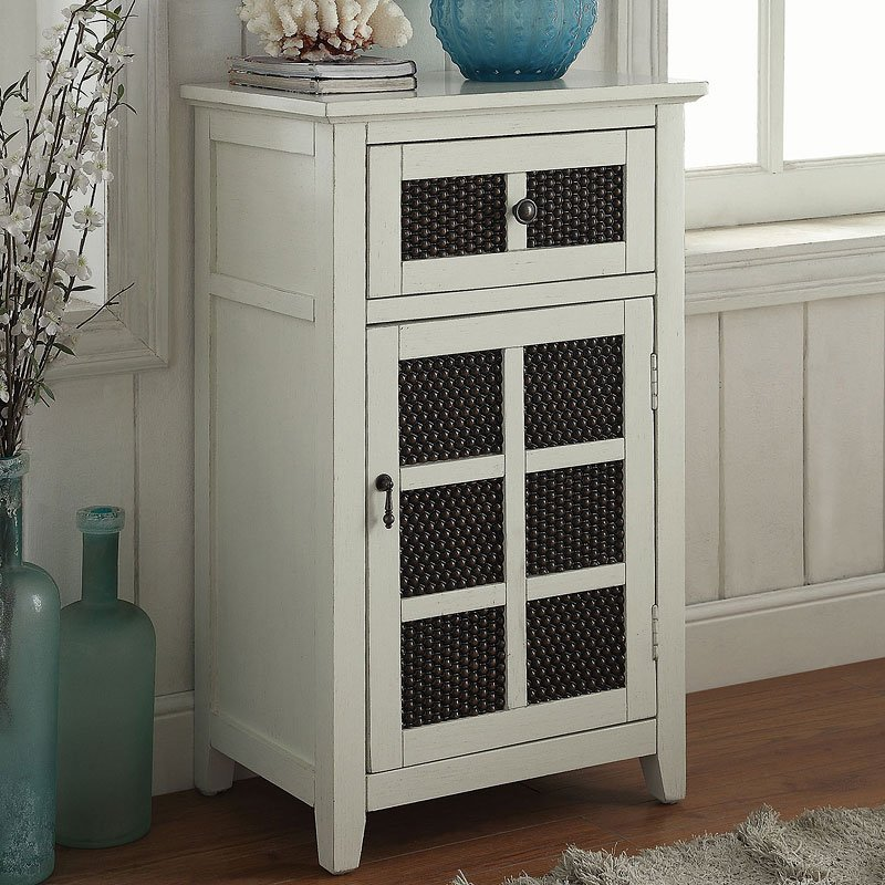 Accent Cabinet (Antique White)