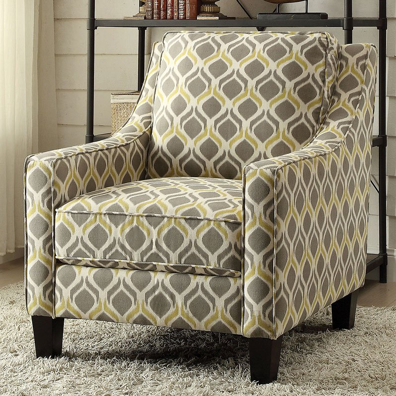 Grey And Gold Accent Chair Living Room Furniture Living