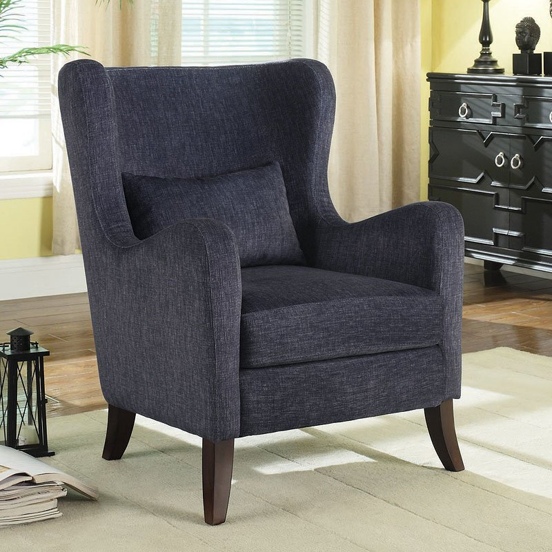 Astonishing Indigo Accent Chair Gmtry Best Dining Table And Chair Ideas Images Gmtryco
