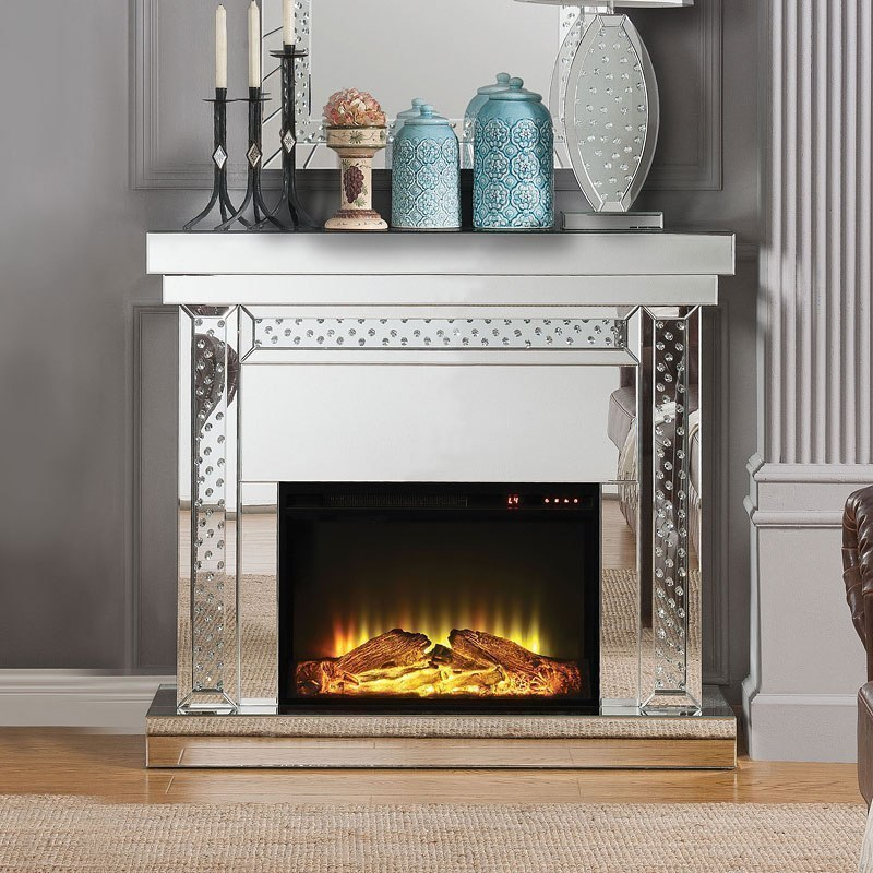 Nysa 42 Inch Height Fireplace By Acme Furniture