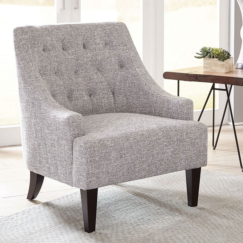 Light Grey Accent Chair: Light Grey Accent Chair By Coaster Furniture