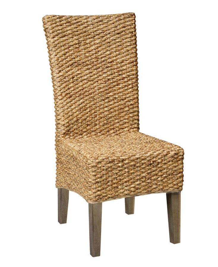 Beau Hampton Seagrass Side Chair (Set Of 2)