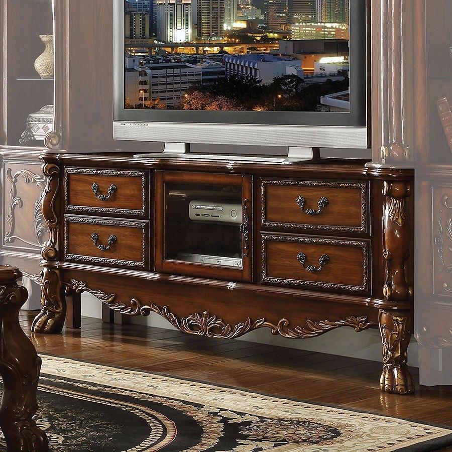 Dresden Tv Console Cherry Oak