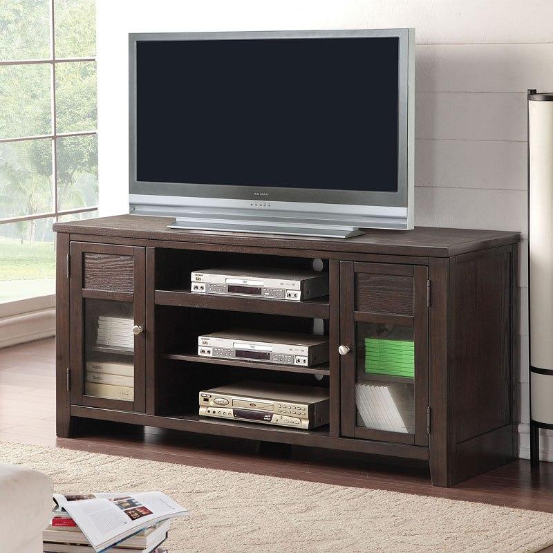 Dark Wood Tv Stand - Home Ideas