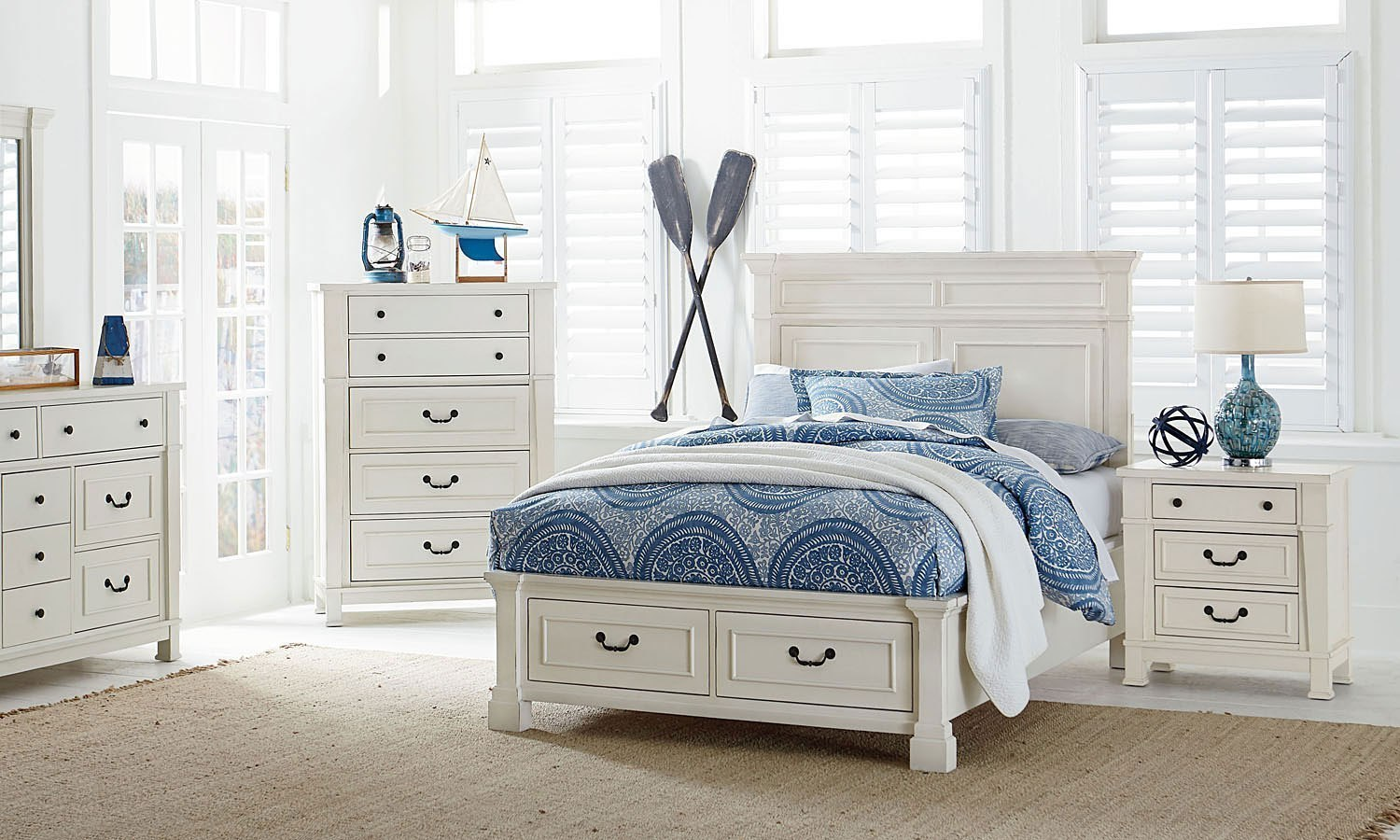 Chesapeake bay youth storage bedroom set by standard - Youth bedroom furniture with storage ...